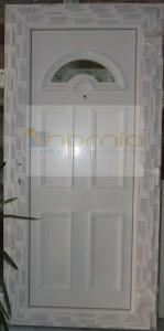 B2 panelos tele ajtó
