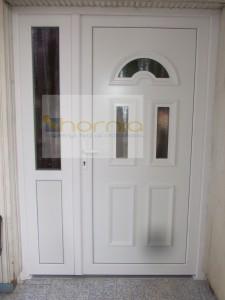 B3-as kétszárnyú asszimetrikus bejárati ajtó /egyedi/