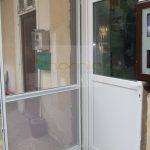 Nyíló(zsanéros) szúnyogháló ajtó-alul kutyahálóval
