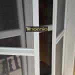Nyíló(zsanéros) dupla szárnyas szúnyogháló ajtó